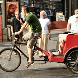 Novelty transportation is popular with tourists around the world.