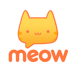 Meow isn't just another chat app! Chat instantly and meet new friends around the world in random 1-on-1 or group chats.