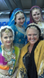 Dr. Kaye with dancer's in Russia.