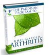 Paddison Program For Rheumatoid Arthritis Review | Creating a Definite...