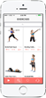 Women's Fitness Workout app exercise index by Fitwirr