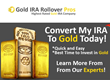 Gold IRA Rollover Pros Announces the Launch of its User-Friendly and...