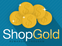 ShopGold is ShopAtHome.com's newest way to save