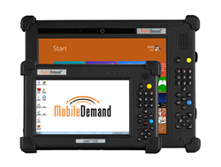 rugged windows tablet for forklift mount applications