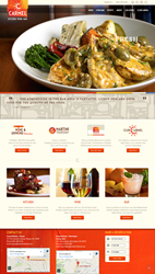 Carmel Kitchen Restaurant Website Developed by Bayshore Solutions