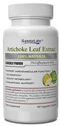 artichoke leaf extract 600mg