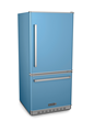 Big Chill Pro Fridge in French Blue