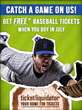 Free baseball tickets from Ticket Liquidator
