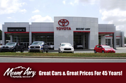 Toyota Dealership near Winston-Salem NC