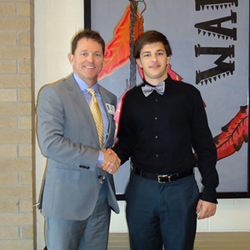 Joye Law Firm's Atty. Mark Joye Awards $2,000 Scholarship to Wando's Matthew Drozd