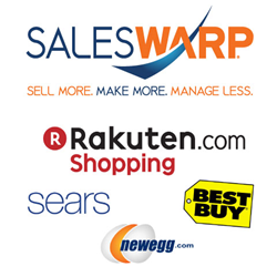 SalesWarp Rakuten Sears Best Buy Newegg