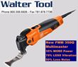 Walter Tool is Offering the New FEIN 350 Q Multimaster