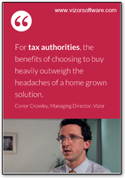 Vizor Software Urges Tax Authorities to Consider an Out-of-the Box...
