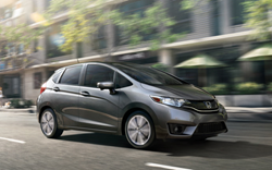 2015 Honda Fit Hatchback. Photo Credit: Honda