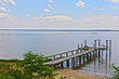 Listed by Frank Hardy Inc. Realtors, Clay Bank sits on high ground in Gloucester, Va. near Richmond, with commanding views of the York River from Yorktown to the Williamsburg region.