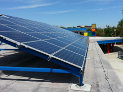 Solar Source installed this educational 30 kW solar display at LEGOLAND Florida