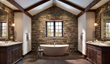 Welcome to the New Stone Age with Dramatic Eldorado Stone® Wall...