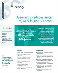 Bizagi Business Process Management Geometry case study