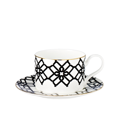 New Truman Bone China Teacup and Saucer