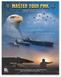 Master Your PMK is a study guide for Navy advancement.