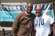 James Yarbrough and Charles Haley Put On Free Football Clinic in...