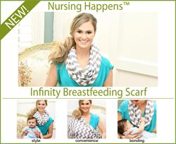 Breastfeeding Nursing Scarves from Itzy Ritzy