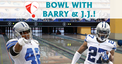 Cowboys bowling event