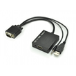 VGA with Audio to HDMI Converter
