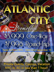 Direct Charters from Manhattan Seaplane Base to Atlantic City in 45 minutes