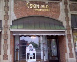 SKIN M.D. Located at 45 East Putnam Avenue, Greenwich, CT