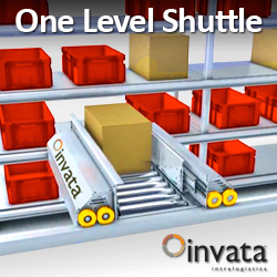 One Level Shuttle - Invata Intralogistics