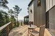 Outdoor Redwood Deck