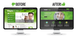 Official Simpleworks Website - Before and After
