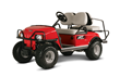 Club Car's compact XRT800 utility vehicle features a powerful 14 hp-rated Subaru EFI engine, yet it fits into the back of a pickup truck.