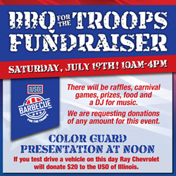 Ray Chevrolet USO BBQ for the Troops