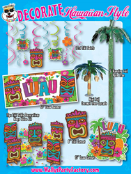 Beat The Heat With A Luau Party