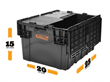 BungoBox XLarge, Reusable Moving Boxes now available for residential use.