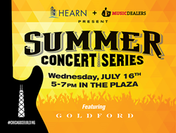The Summer Concert Series presented by HEARN and Music Dealers