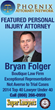 Top Phoenix Personal Injury Attorney, Bryan Folger, Named to Top 40 Under 40 Lawyers in Arizona
