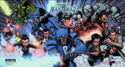 Comic-Con San Diego 2014, Legend of the Mantamaji Graphic Novel