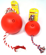 Tuggo is available in 2 sizes 10 inch & 7 inch & 3 colors Red, Blue or Green