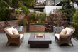 Bluestone Deck and Firepit