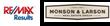 Re/Max Logo & Monson & Larson Logo
