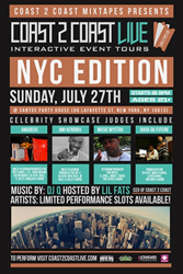 Coast 2 Coast LIVE Is In New York City, NY On July 27, 2014