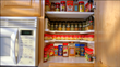 Spicy Shelf™ Nearly Doubles Useable Storage Space While Making Every Spice Easily Visible