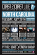Coast 2 Coast LIVE Will Be in Charlotte, North Carolina on July 29,...