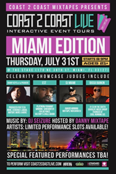 Miami Hip-Hop Heads Rejoice, Coast 2 Coast LIVE Is Coming Soon