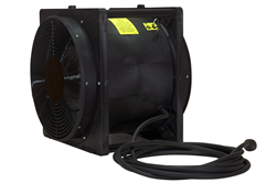 Explosion proof fan that moves 4,450 cubic feet worth of air per minute