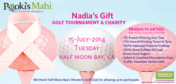 Pooki's Mahi's gifts Golf Tournament attendees award-winning teas.  BUY @ http://pookismahi.com/collections/pyramid-infusers