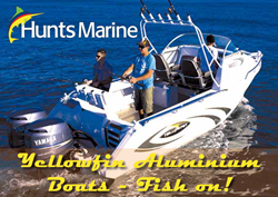 Hunts marine 4 - Yellowfin Aluminium Boat Sales